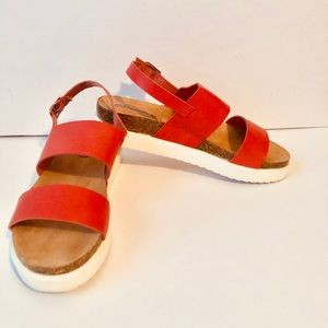 🔥🔥Women's pink size 7 1/2 sandals